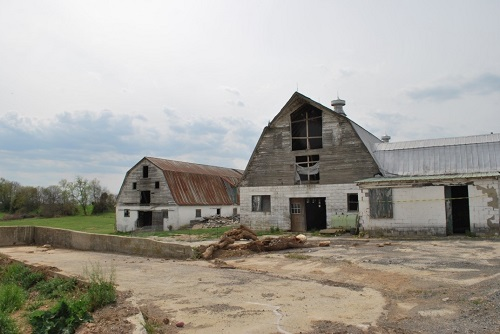 AGC Charities is helping renovate this historic barn to serve as Warrior Canine Connection's new healing quarters